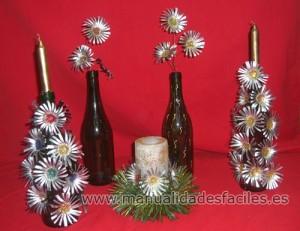 Centros de mesa navide os con c psulas nespresso for Centro de mesa navideno manualidades