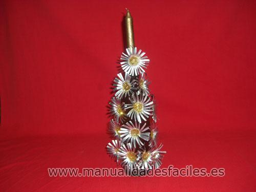 Centros de mesa navide os con c psulas nespresso - Trabajos manuales para navidad ...