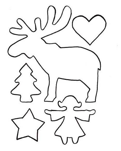 Plantillas de navidad manualidades faciles - Plantillas adornos navidenos ...