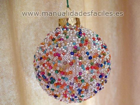 Bolas de navidad decoradas manualidades faciles - Manualidades bolas de navidad ...