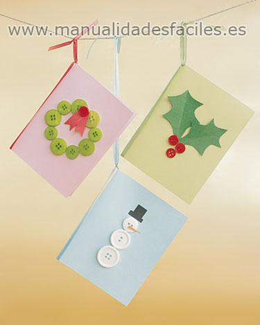 Tarjetas de Navidad | Manualidades faciles