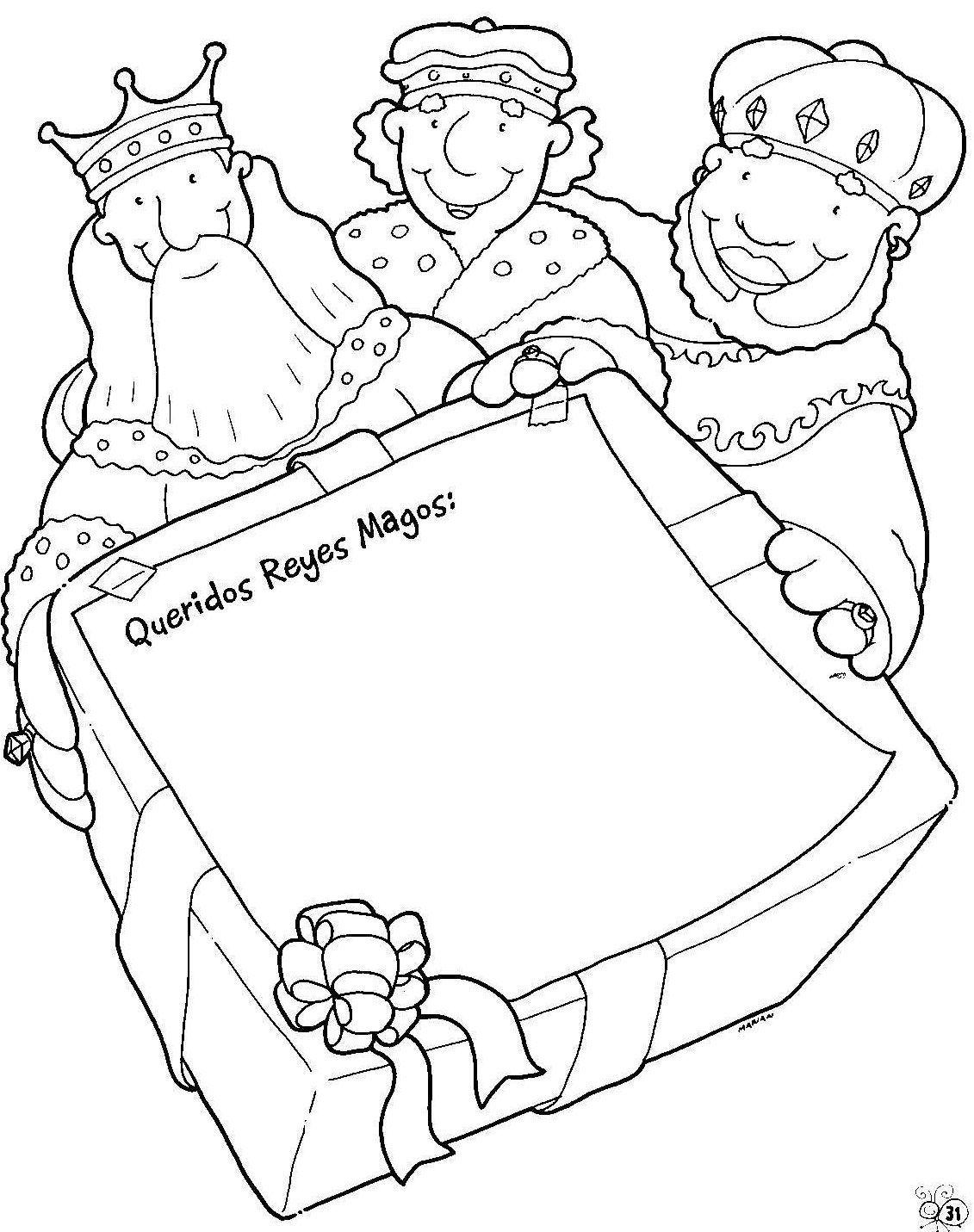 Maestra de Infantil: Cartas a los Reyes Magos