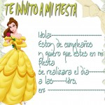 invitacionprincesa Bella