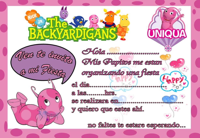 Tarjeta De Invitación En Inglés Imagui