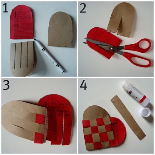 Things Construction Paper Heart Crafts