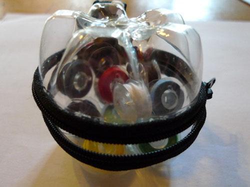 Monedero hecho con botellas de plastico manualidades faciles - Manualidades con botellas de plastico faciles ...