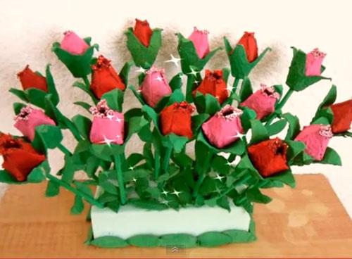 Video Para Hacer Una Rosa De Sant Jordi Hecha Con Articulos