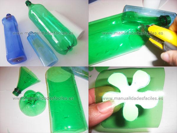 cosas hechas de botellas de plastico | Que hacer para