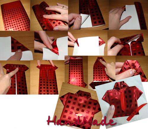 Envoltura de regalo original manualidades faciles - Envoltorios originales para regalos ...