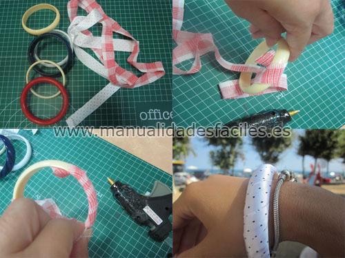 Manualidades de pulseras recicladas
