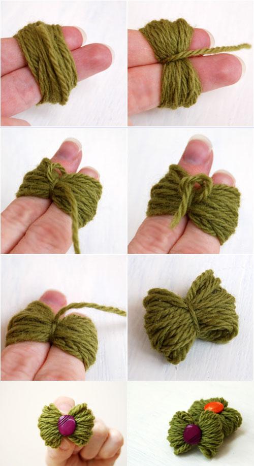 Peque o lazo de lana manualidades faciles for Manualidades para ninos con lana