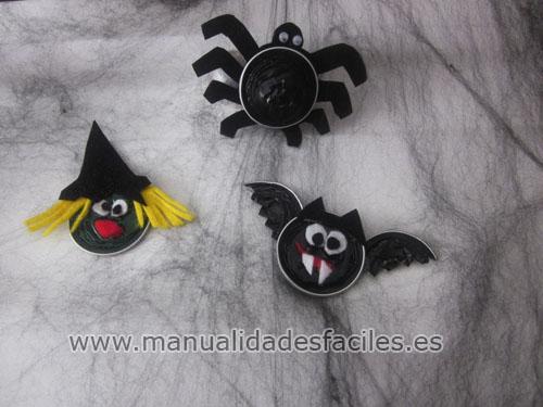 Figuras halloween con nespresso manualidades faciles - Manualidades halloween faciles para ninos ...