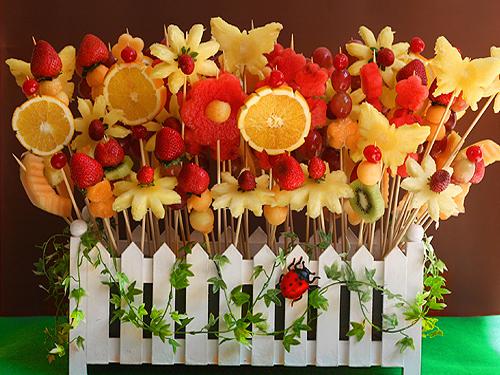 Arreglo De Mesa Con Frutas Manualidades Faciles - Manualidades-con-frutas-para-nios