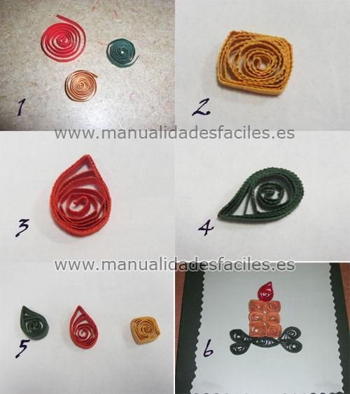 Como hacer tarjeta de navidad en hoja de papel