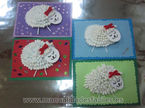 Tarjeta de navidad manualidades faciles - Tarjetas de navidad faciles ...