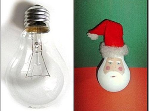 Adornos de navidad hechos con material reciclado Manualidades faciles
