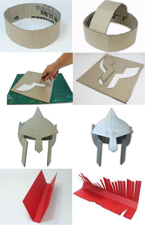 Casco Carton Como Hacer Cascos Romanos Pictures