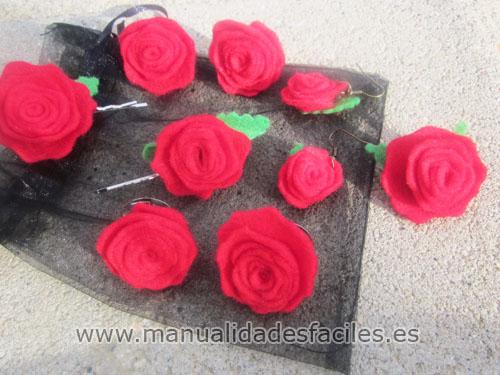 Rosas de fieltro paso a paso imagui - Manualidades de fieltro paso a paso ...