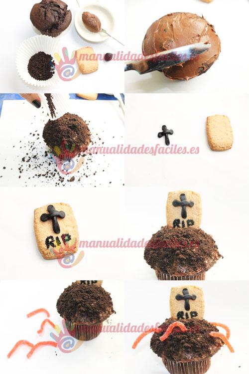 Como Decorar Un Cupcake Para Halloween De Una Forma Fácil
